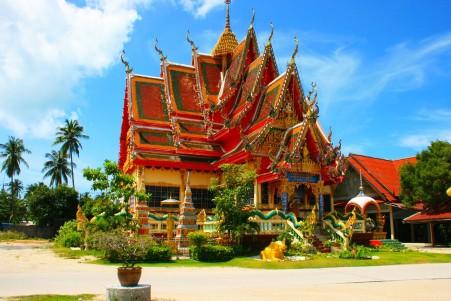 泰国佛教寺院风景图片