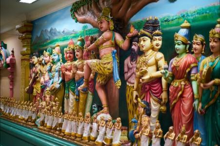 印度教 寺庙 神雕塑 信仰 佛教4k超高清壁纸推荐图片