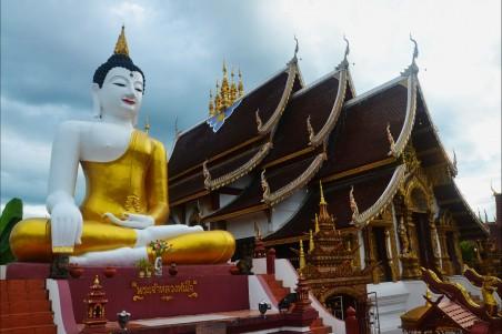 泰国寺庙雕像风景图片