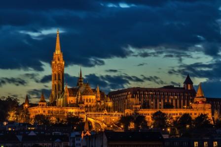 马蒂亚斯教堂5k风景图片