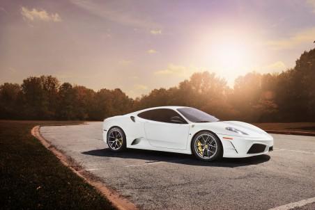 白色 法拉利F430跑车4K超高清壁纸精选