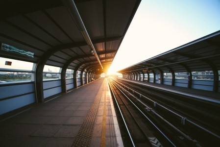 伦敦地铁车站5k风景图片