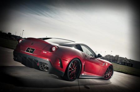 红色法拉利599 GTO 跑车4K超高清壁纸精选
