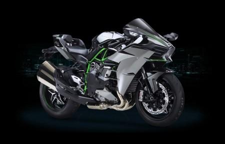 川崎h2r摩托车4k超高清壁纸精选