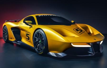 宾尼法利纳设计超跑EF7 4K超高清壁纸精选3840x2160