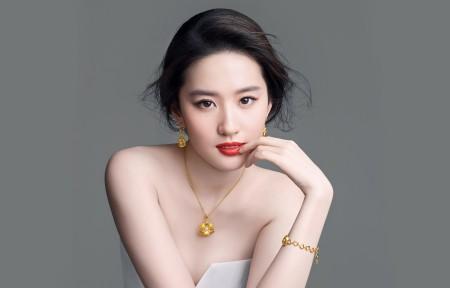刘亦菲带鱼屏超高清壁纸推荐3440x1440