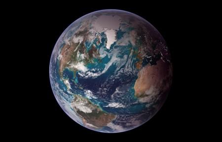 高清科幻地球3440x1440风景高端电脑桌面壁纸