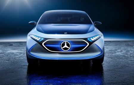 2017法兰克福车展 梅赛德斯奔驰概念EQ A 4K超高清壁纸精选