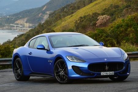 蓝色玛莎拉蒂汽车4K超高清壁纸精选