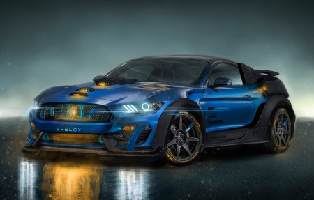 野马GT350R Shelby 4K超高清壁纸精选