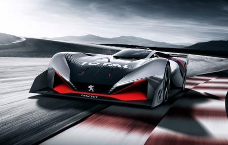 标致L750 R HYbrid概念车4K超高清壁纸精选