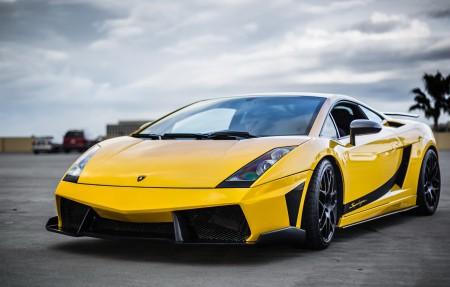 黄色超级跑车兰博基尼4K超高清壁纸精选3840x2160