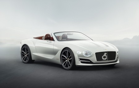 2017年宾利EXP 12速度6 e的概念车4K超高清壁纸精选