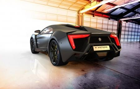 黑色超级跑车Lykan Hypersport 4K超高清壁纸精选