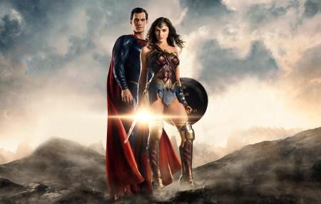 超人,神奇女侠盖尔加朵 正义联盟4K壁纸超高清图片下载