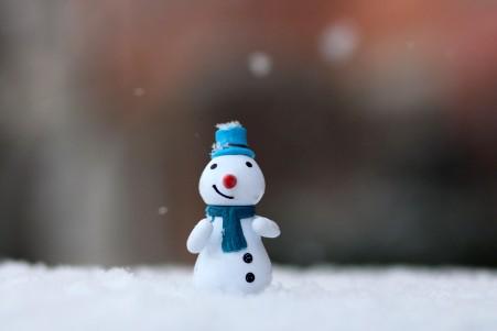 冬季 圣诞节 小雪人 玩具 5K图片