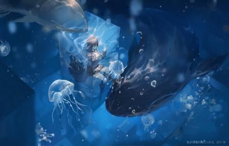 深海4k动漫超高清壁纸精选