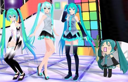 初音未来 Miku Party 4k超高清壁纸精选