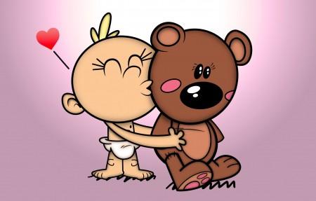 泰迪玩具熊Teddy Love 4k可爱超高清壁纸推荐