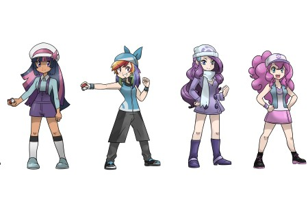 口袋妖怪 My Little Pokemon Trainer 3440x1440高清壁纸极品游戏桌面精选