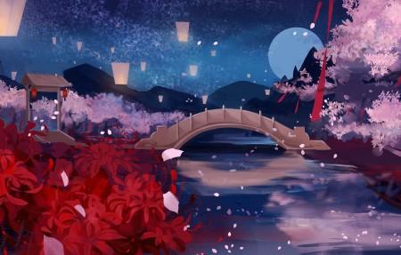 奈何桥7k插画超高清壁纸精选