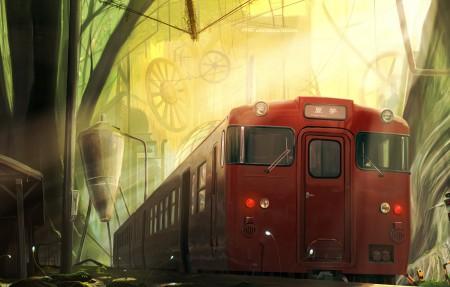 到达的地方 单程票的梦异世界篇 4k插画超高清壁纸精选