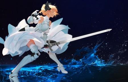 可爱美少女战士 剑 水 4K动漫高端电脑桌面壁纸