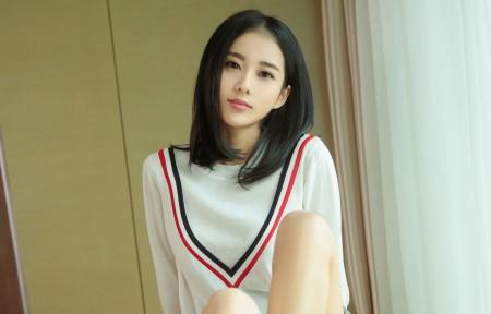 刘海美女3440x1440带鱼屏超高清壁纸精选