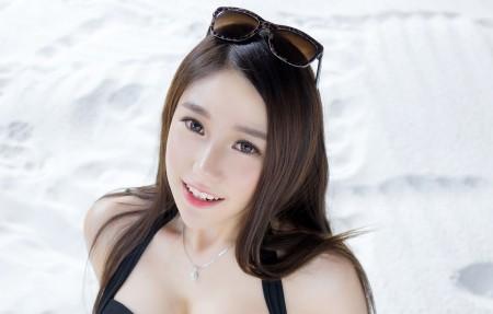 刘奕宁Lynn 美女 墨镜 4k高端电脑桌面壁纸