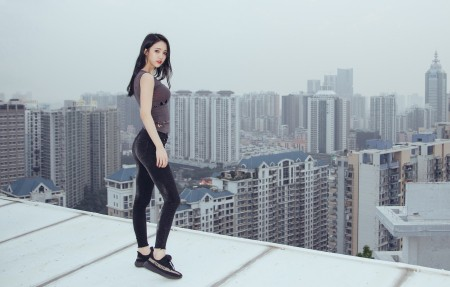 李倩倩 s形身材美女4k高端电脑桌面壁纸