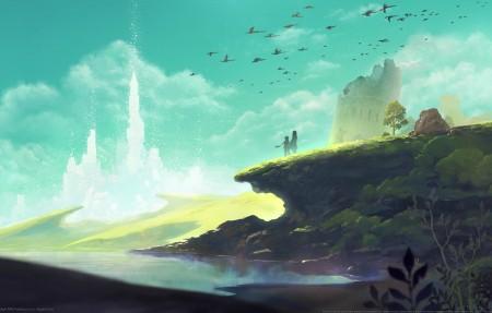 《失落的斯菲尔Lost Sphear》4k高清壁纸极品游戏桌面精选