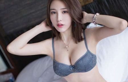 刘奕宁比基尼内衣写真3440x1440美女高端电脑桌面壁纸