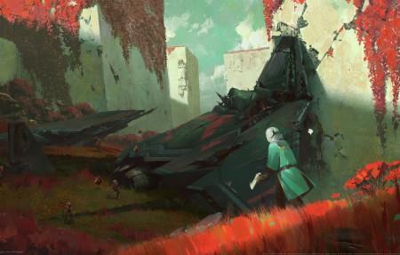 命运2游戏原画4k壁纸超高清图片下载