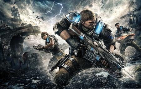 《战争机器4(Gears of War 4)》4k超高清壁纸精选