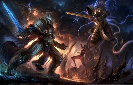Heroes of the Storm fan art 游戏原画4k高端电脑桌面壁纸