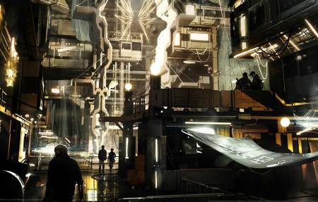 《杀出重围:人类分裂(Deus Ex: Mankind Divided)》4k高端电脑桌面壁纸
