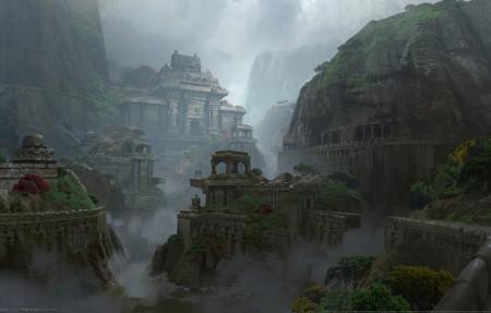 《神秘海域:失落遗产(UNCHARTED:The Lost Legacy)》游戏风景4k高清壁纸极品游戏桌面精选