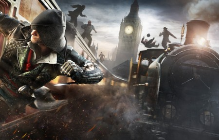 《刺客信条:枭雄(Assassin's Creed Syndicate)》3840x1080高端电脑桌面壁纸