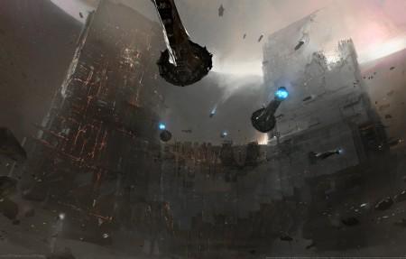 EVE Online: Citadel 4k游戏高端电脑桌面壁纸