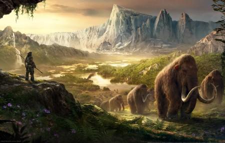 孤岛惊魂:原始杀戮 Far Cry Primal 4k游戏高端电脑桌面壁纸