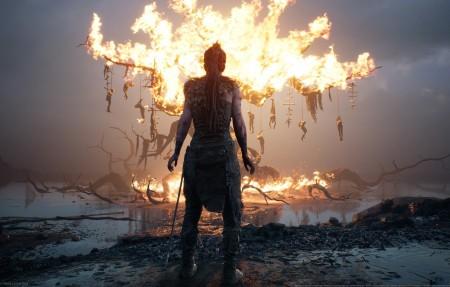 地狱之刃塞娜的献祭4K游戏壁纸超高清图片下载