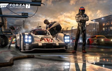 《极限竞速7(Forza Motorsport 7)》4K桌面超高清壁纸精选