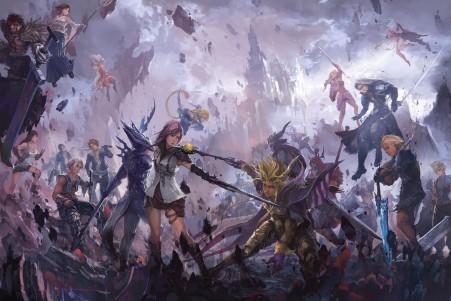 最终幻想游戏原画4K高端电脑桌面壁纸