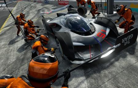 迈凯轮的终极愿景GT PS4赛车4K高端电脑桌面壁纸