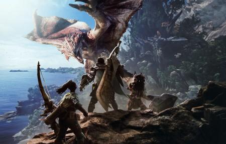 【4K】怪物猎人世界3840x2160游戏高端电脑桌面壁纸