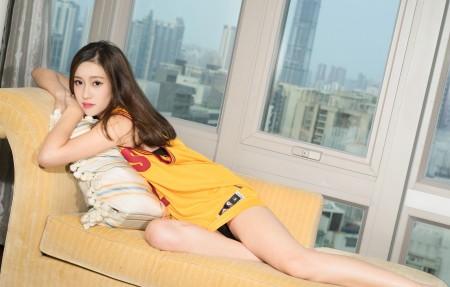 美女模特芝月3840x2160高端电脑桌面壁纸