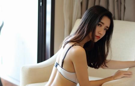 小夕Kitty性感内衣长发美女3440x1440高端电脑桌面壁纸