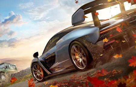 《Forza Horizon 4》3440x1440游戏高端电脑桌面壁纸