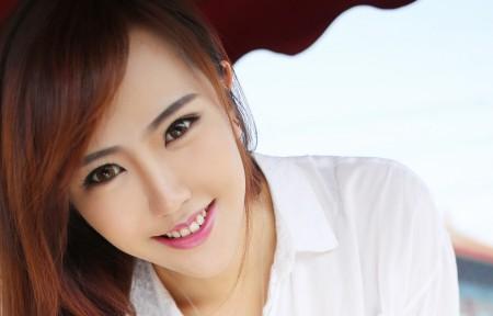赵婉妮美女模特3440x1440高端电脑桌面壁纸