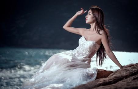 白色婚纱新娘4k美女超高清壁纸精选